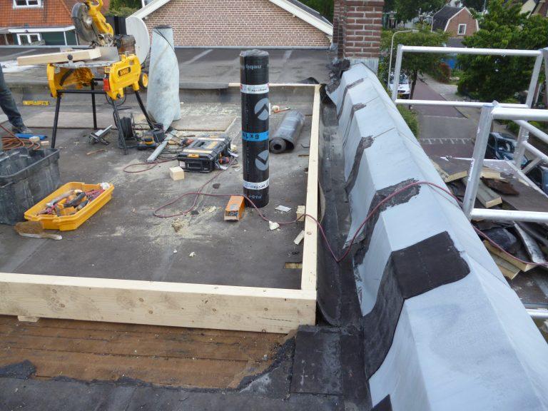Voor - Opbouw verdieping